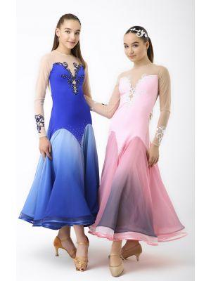 Сукня для стандарту № 745/1 (з камінням)