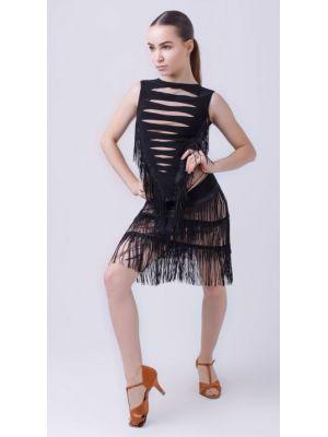 Блуза для танців №361 (однот. бахрома)