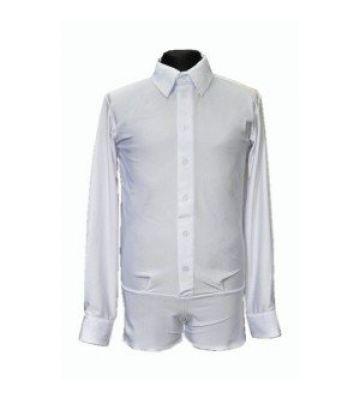 Рубашка мужская с планкой 4001