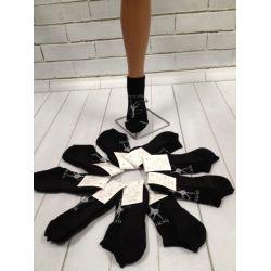 Шкарпетки гімнастичні чорні утеплені