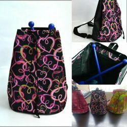 Рюкзак на затяжке(без подкладки)