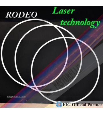 Обруч Pastorelli Rodeo 90 cm Laser FIG