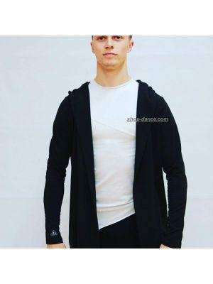 Модна кофта-накидка чоловіча з капюшоном J.E.M.