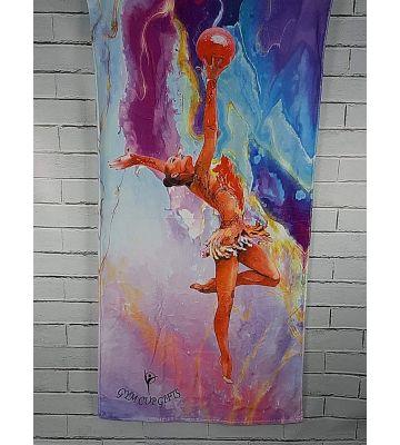 Рушник з гімнасткою