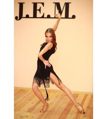 Платье Lt с бахромой  J.E.M.