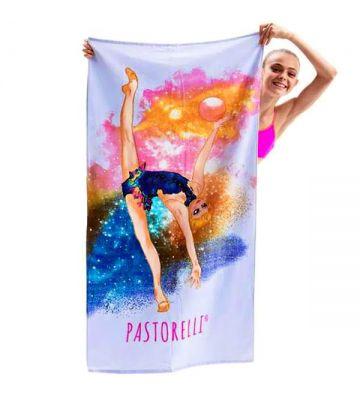Пляжное полотенце Pastorelli Freedom гимнастка с мячем