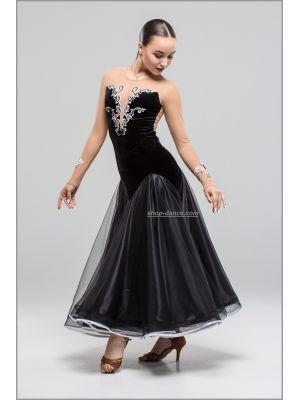 Сукня для стандарту St №746/1 (з камінням)