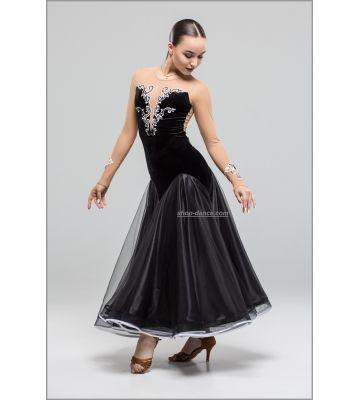 Платье для стандарта St №746/1 (с камнями)