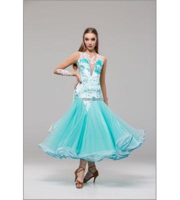 Платье для стандарта St №747