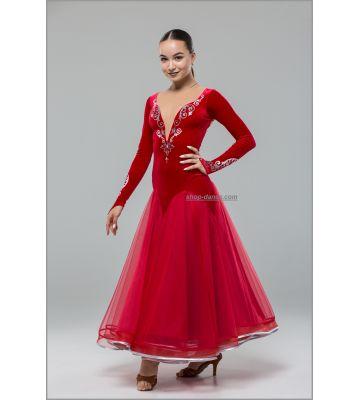 Платье для стандарта St №748