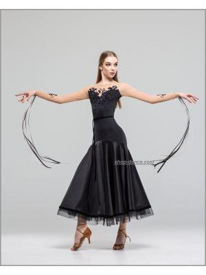 Платье для стандарта St №7701 Голд