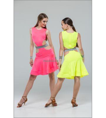 Платье для латины № 233 (бифлекс, спорт)