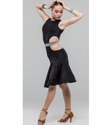 Сукня для латини № 233/1 (масло прінт)