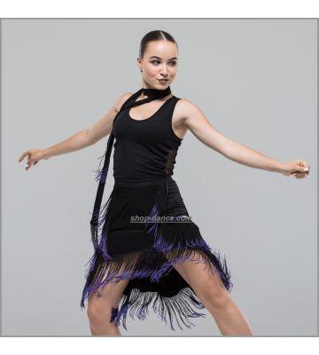 Майка для танцев №1053 (бочка сеточка)