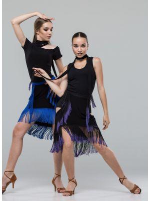 Майка для танців №1053 (збоку сіточка)