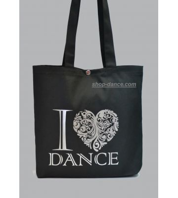 "Сумка - авоська ""I Love dance"""