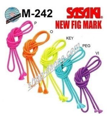 Скакалка для гимнастики SASAKI M-242, 3 м