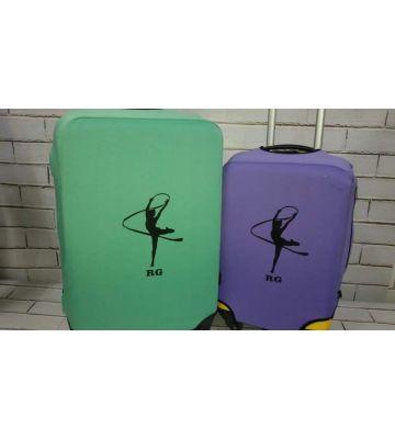 Чохол для валізи з гімнасткою RG