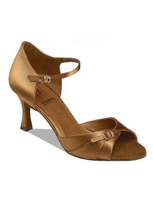 Обувь женская для латины Supadance 7843, Dark Tan Satin