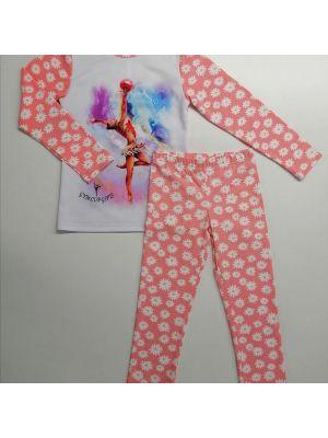 Піжама дитяча з гімнасткою