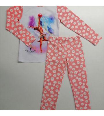 Пижама детская с гимнасткой