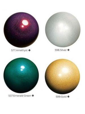 М'яч гімнастичний 'Jewerly' з блистівками Chacott, 17 см
