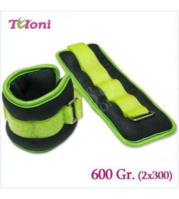 Обважнювачі Tuloni для рук чи ніг, пара по 300 г./шт.