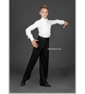 Рубашка фрачная для бальных танцев № 915/1 (с уголками)