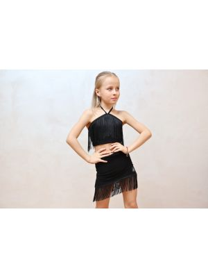Молодіжний топ танцювальний Summer з бахромою J.E.M