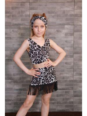 Модний топ для танців Lola гепард J.E.M