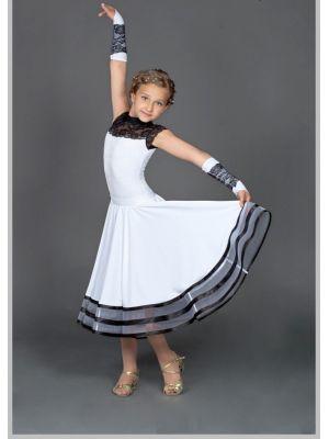 Рейтинговое платье (бейсик) 825