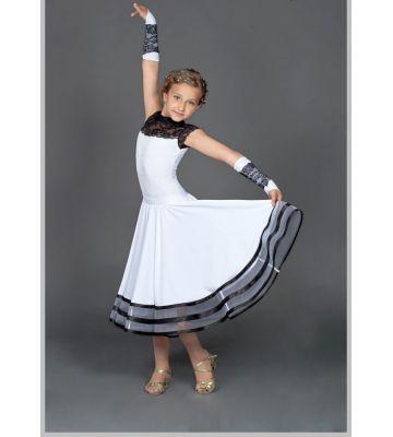 Платья бейсик для бальных танцев 825