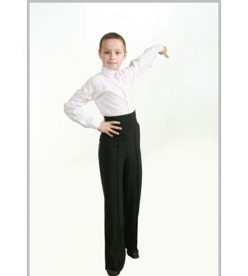 Брюки для танцев латина мужские с широким поясом Fen  № 905