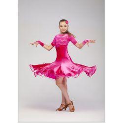 Платье для бальных танцев бейсик № 829