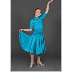 Платье для бальных танцев бейсик № 828