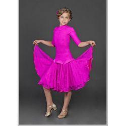 Платье для бальных танцев бейсик № 823