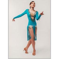 Танцевальное платье латина Fen № 282