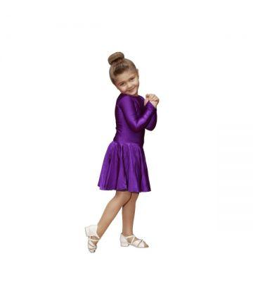 """Рейтинговое платье для бальных танцев  """"Виолетта"""" 501: по новым правилам"""