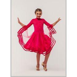Платье для бальных танцев бейсик № 831
