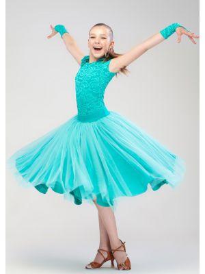 Плаття для бальних танців бейсик № 840