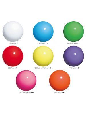 М'яч гімнастичний однотонний Chacott, 18,5 см.