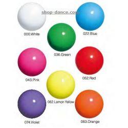 Мяч однотонный юниорский Chacott, 15 см.