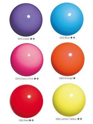 М'яч однотонний практика (65007) Chacott, 17 см.