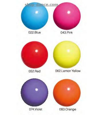 Мяч однотонный практика (65007) Chacott, 17 см.