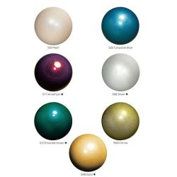 М'яч гімнастичний 'Jewerly' з блистівками Chacott, 18,5 см.